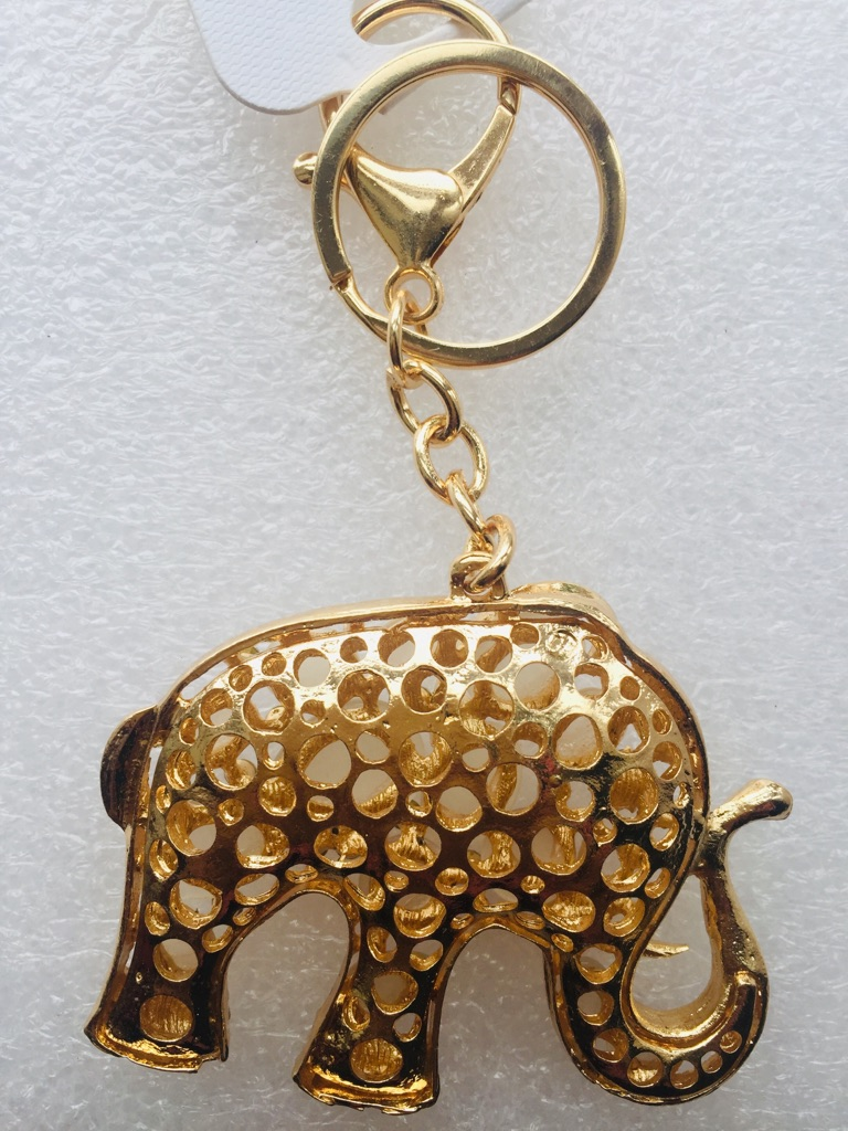 Keys ring holder with elephant ### 3