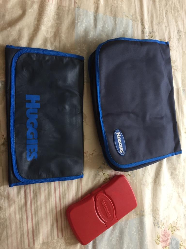 Huggies changing bag