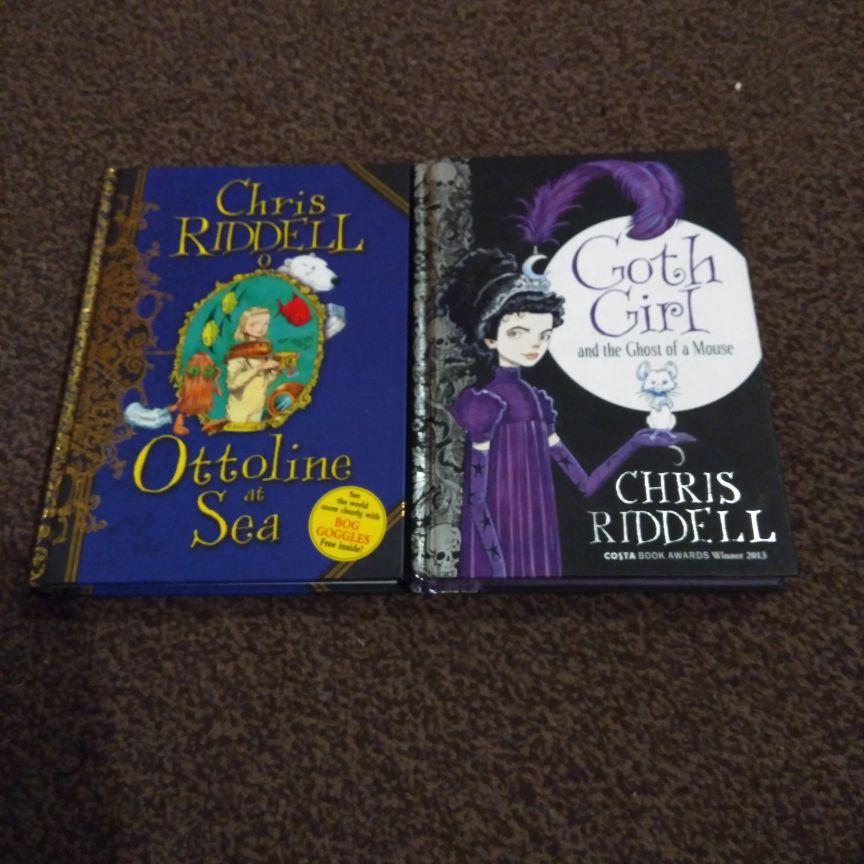 Chris Riddell books x4