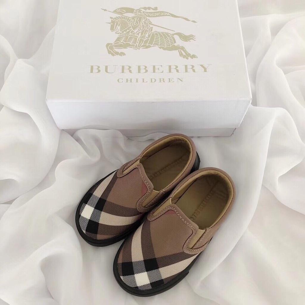 Burberry children 高級小童休閒鞋
