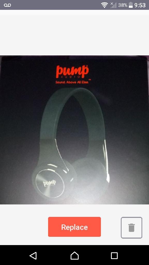 Pump decks headphones