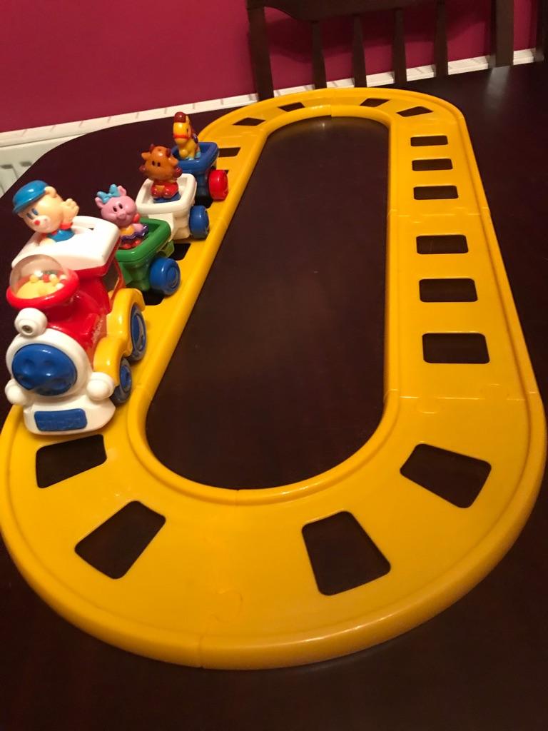 Children's Brilliant Chicco Train And Track