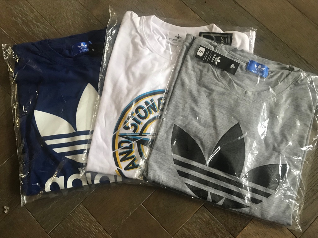 Mix and match T-shirts