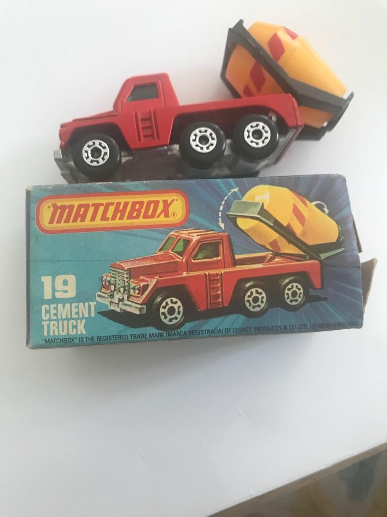 Matchbox cement truck