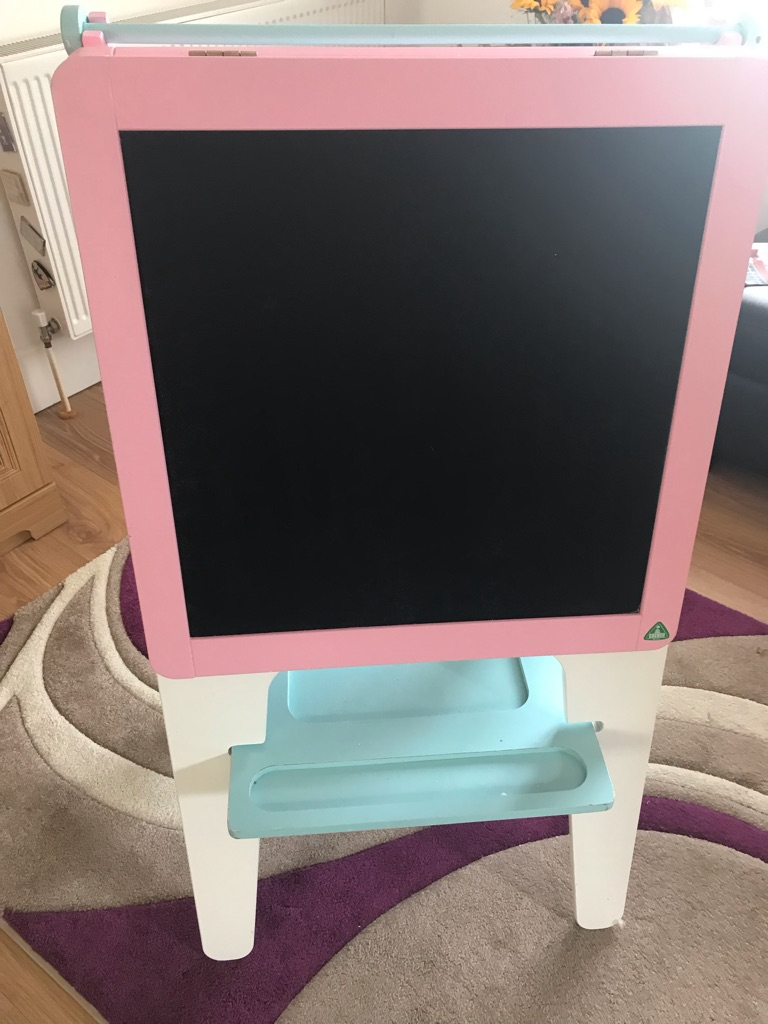 Chalk and painting easel