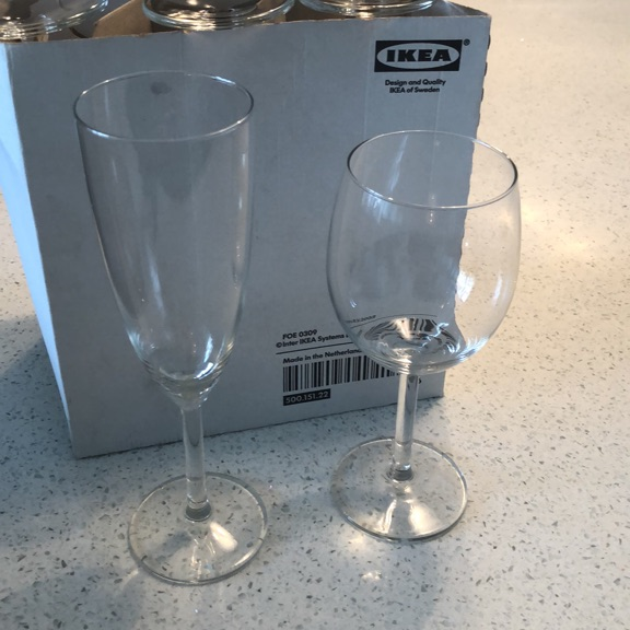 22 Glasses in total now REDUCED for quick sale