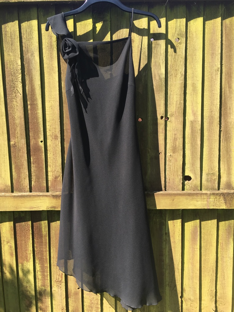 A gorgeous black ladies dress