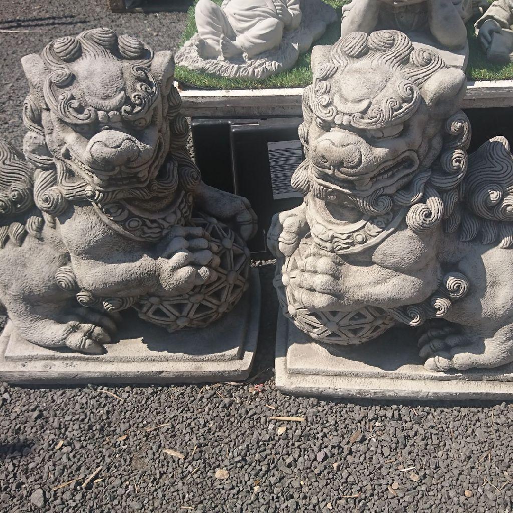 Stone Foo Dogs