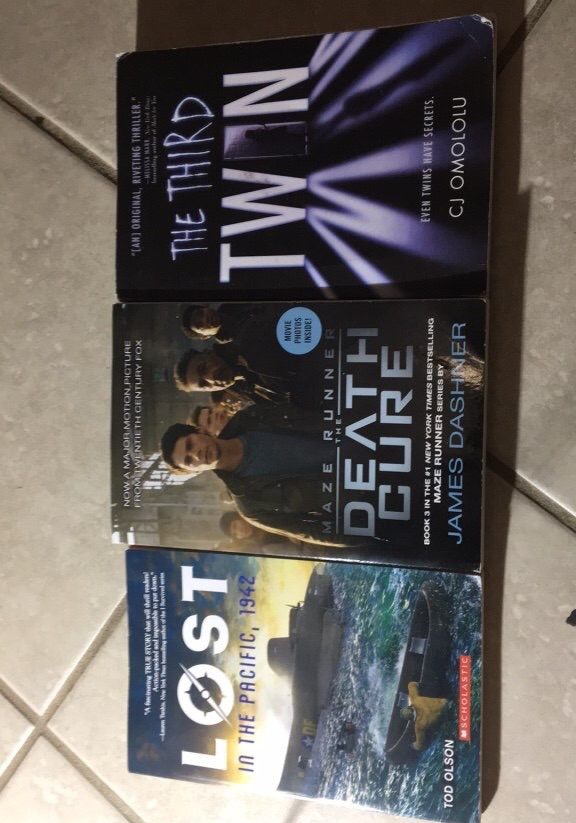 3 New York Times Bestselling Books