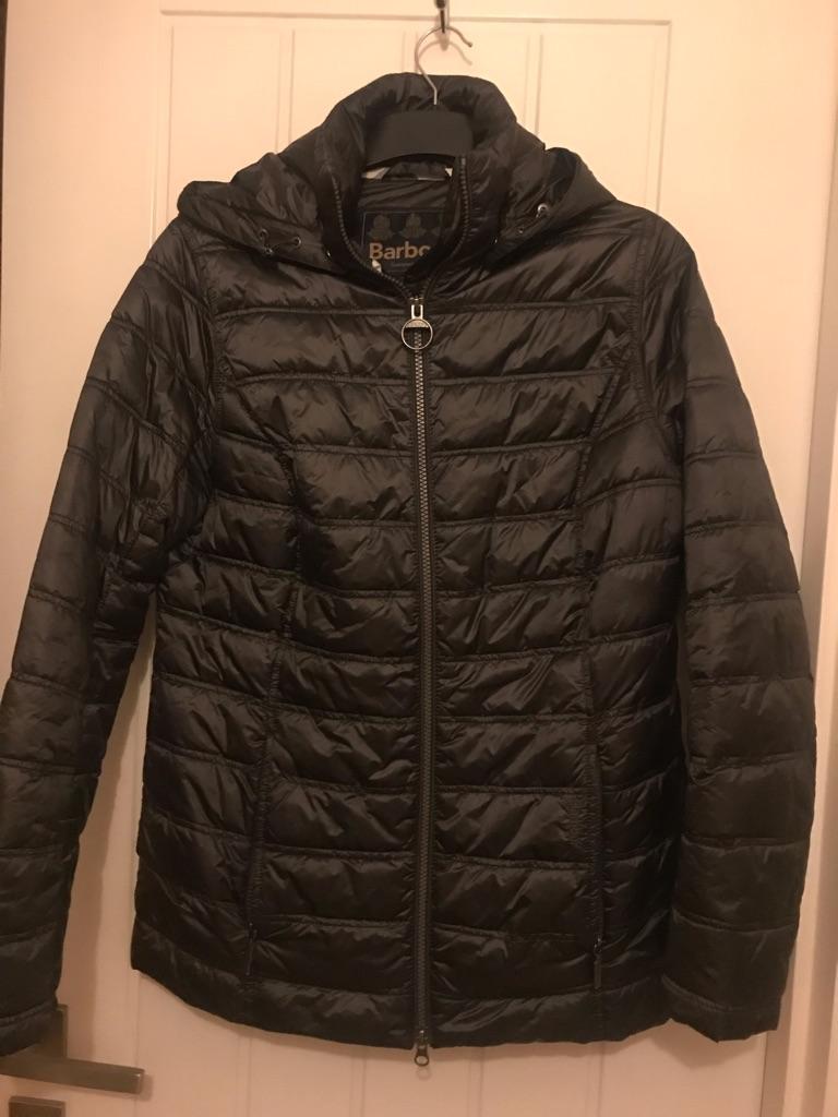 Barbour fibre down coat