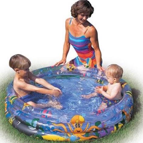 Ocean life paddling pool