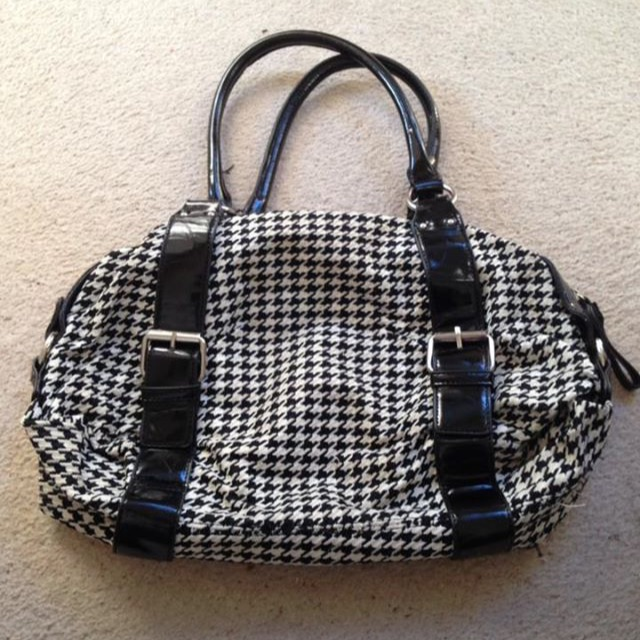 Black & White Handbag