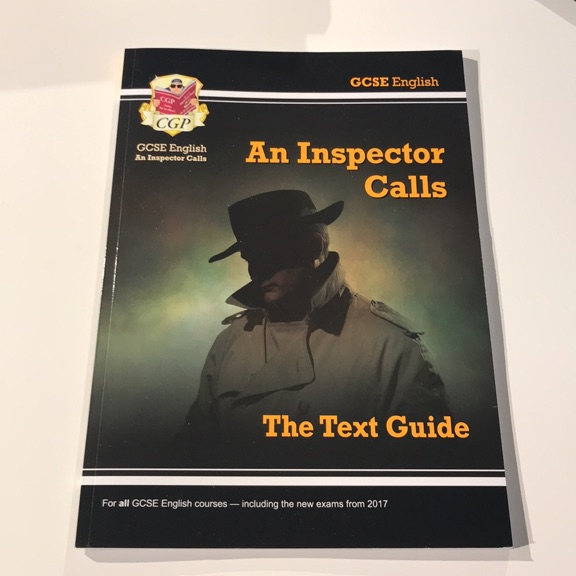 AN INSPECTOR CALLS TEXT GUIDE