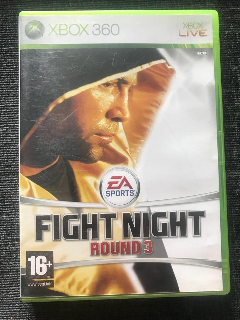 Fight night Xbox 360 game