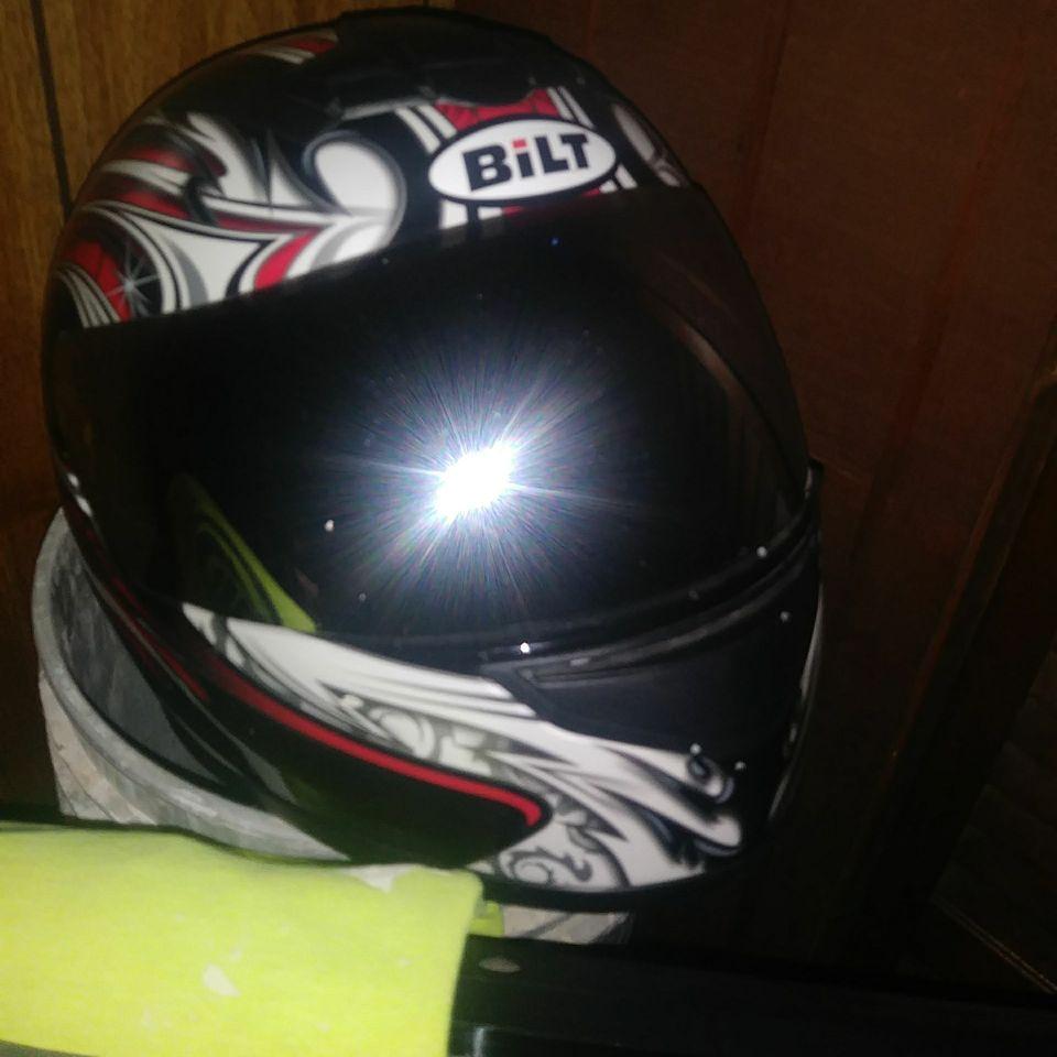 Bilt motorcycle helmit
