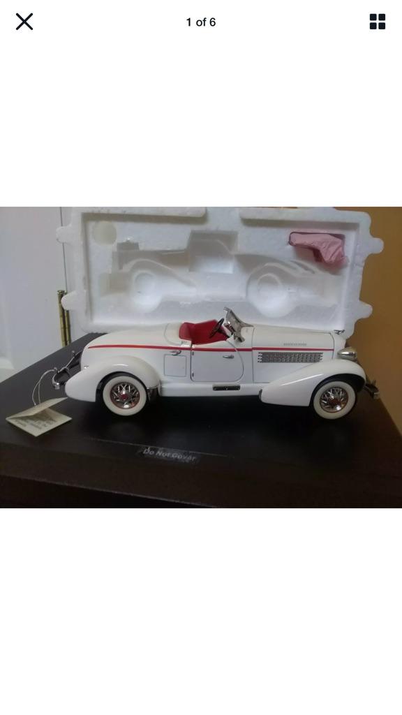 Franklin mint 1935 Auburn