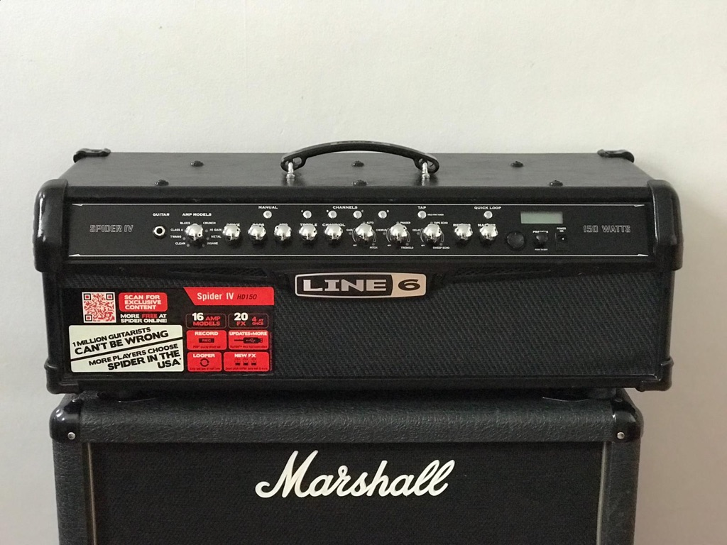 Line6 spider HD150 amp