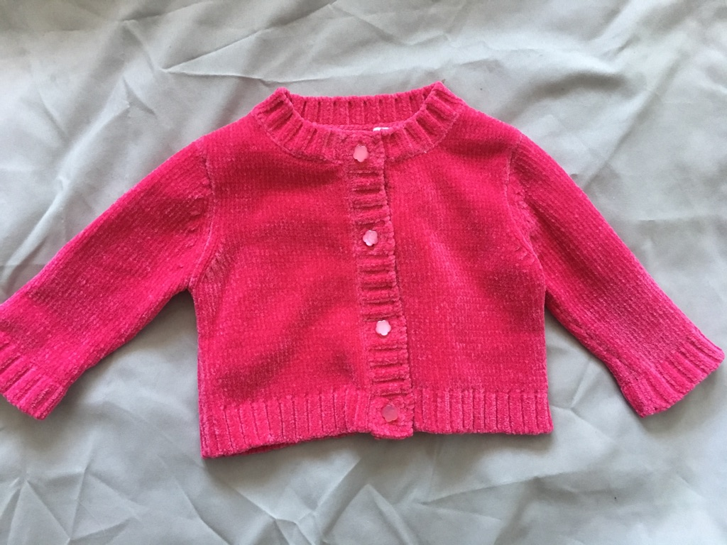 Baby girl cardigans 3-6 months