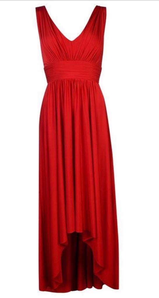 Biba red dress