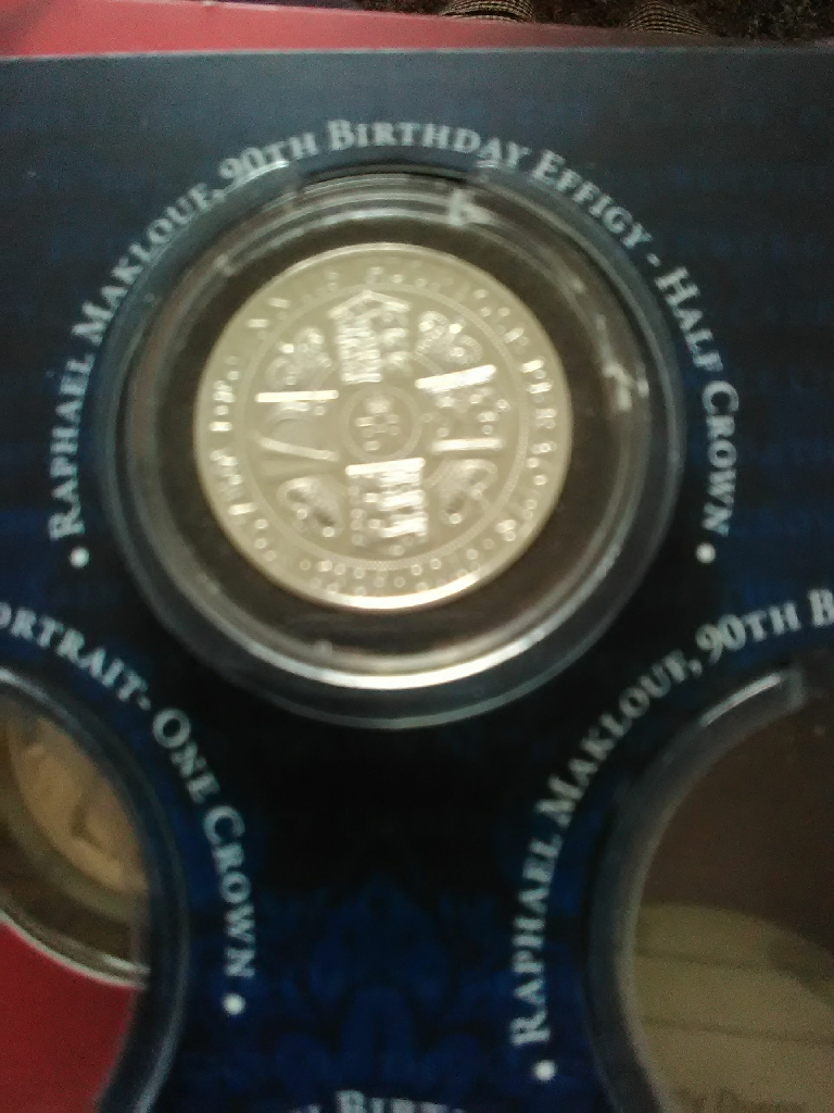 OFFICIAL MAKLOUF 90TH BIRTHDAY COIN