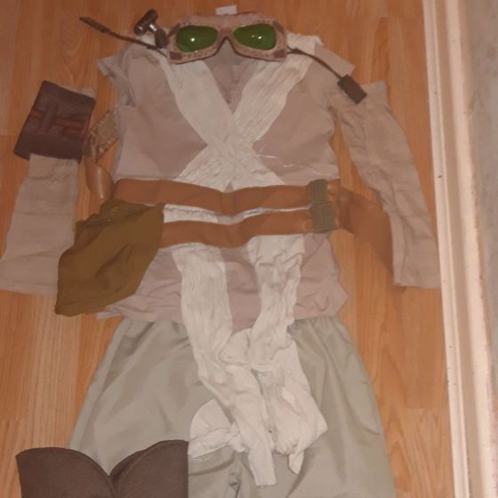 Ray from Star Wars dress up