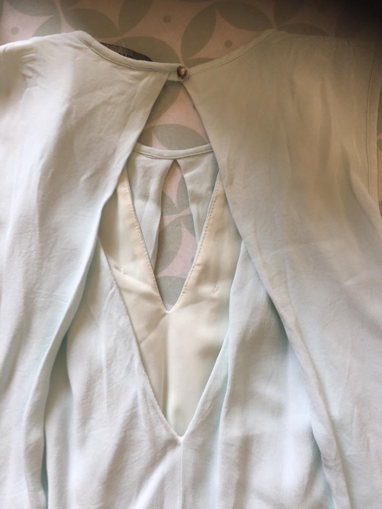 Size 14 pale blue dress from Australian brand Cue