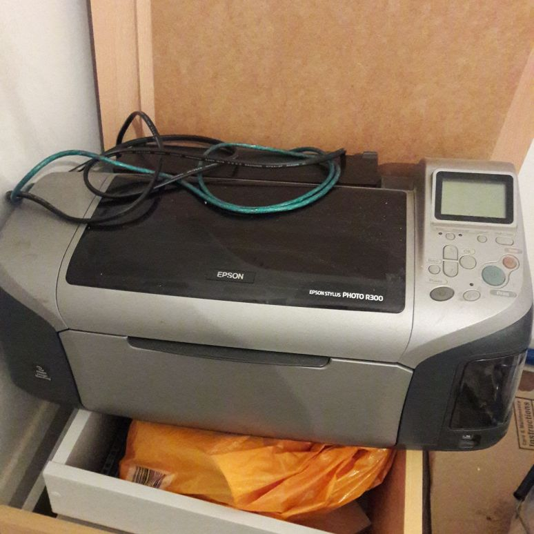 Printer and inks