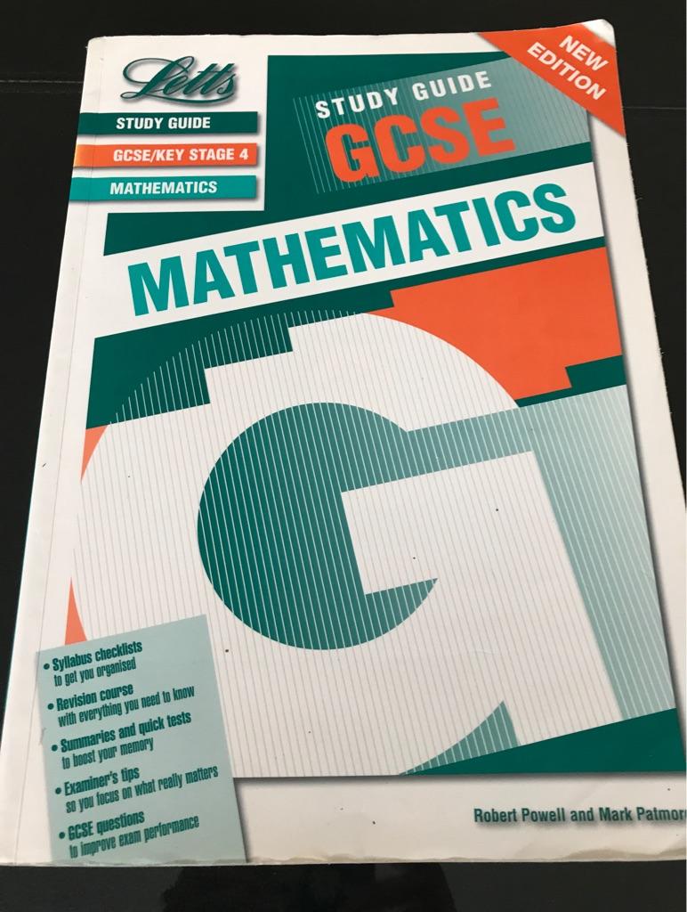 GCSE maths study guide