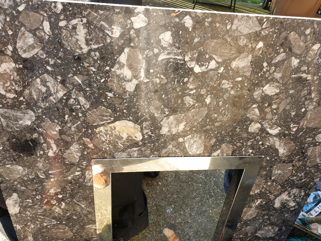 Slate Grey Marble Surround