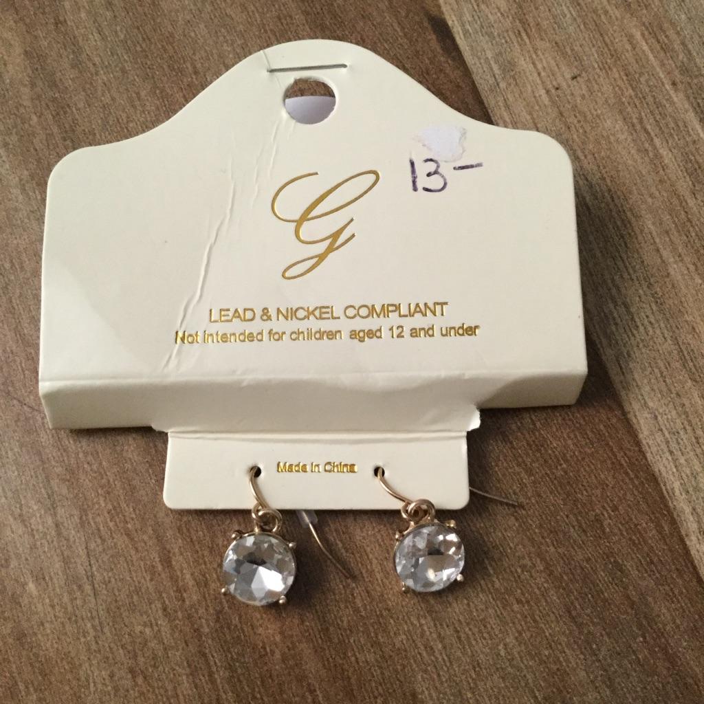 Brand new  earrings $100 or best offer