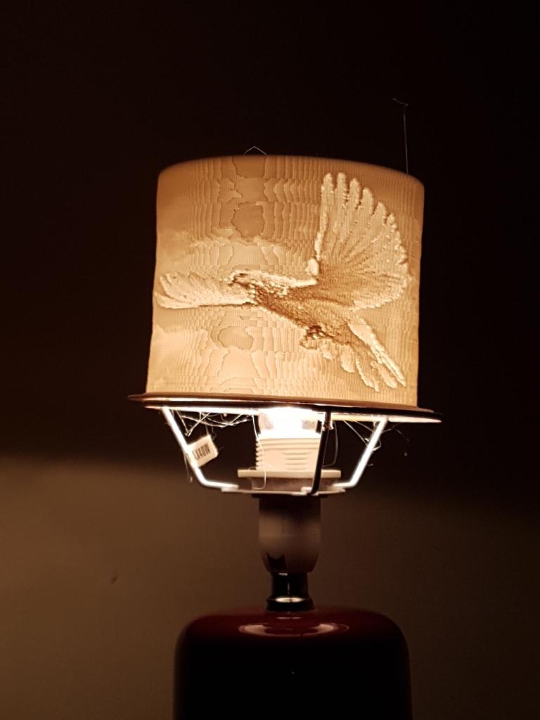 Custom 3D printed lamps