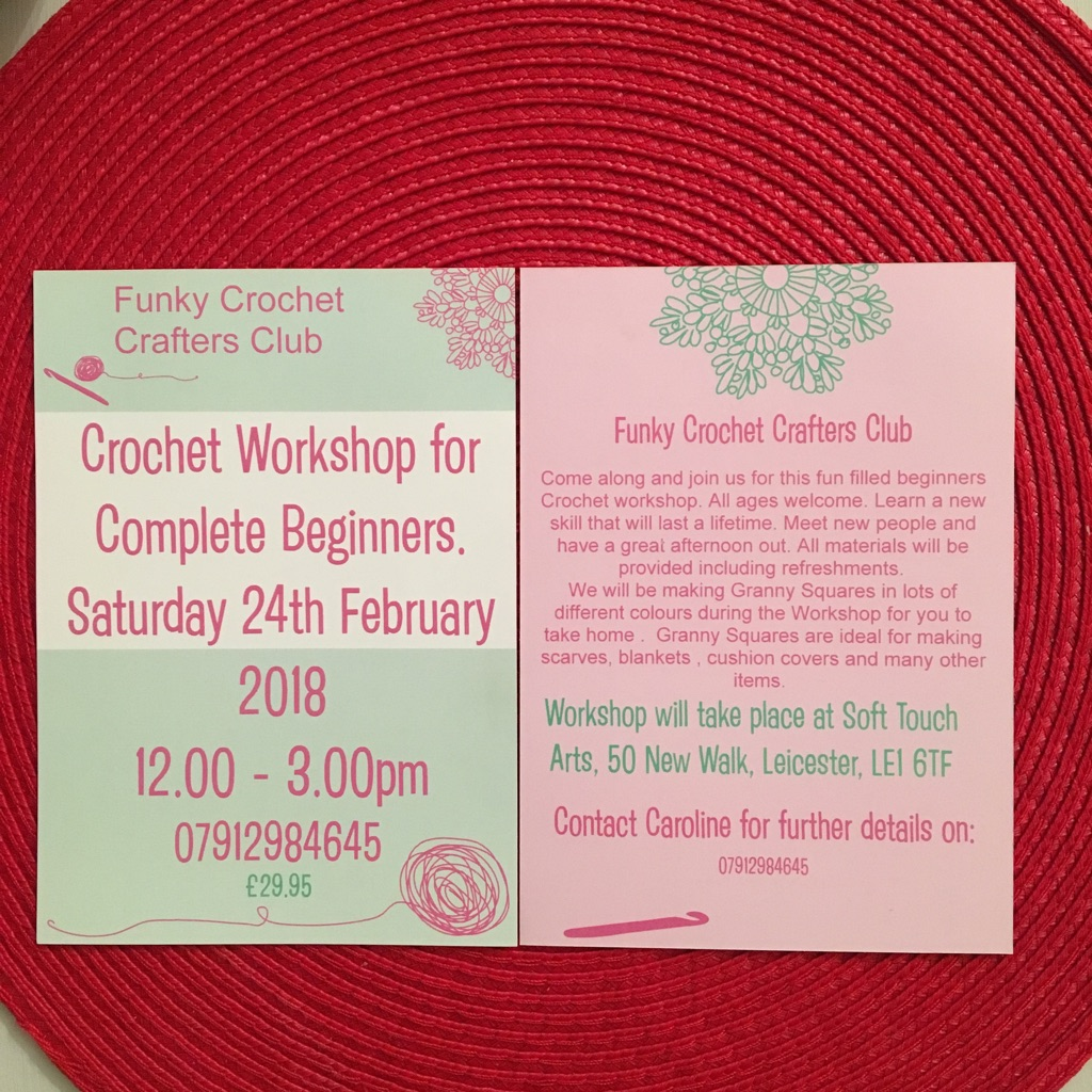 Funky Crochet Crafters Workshop