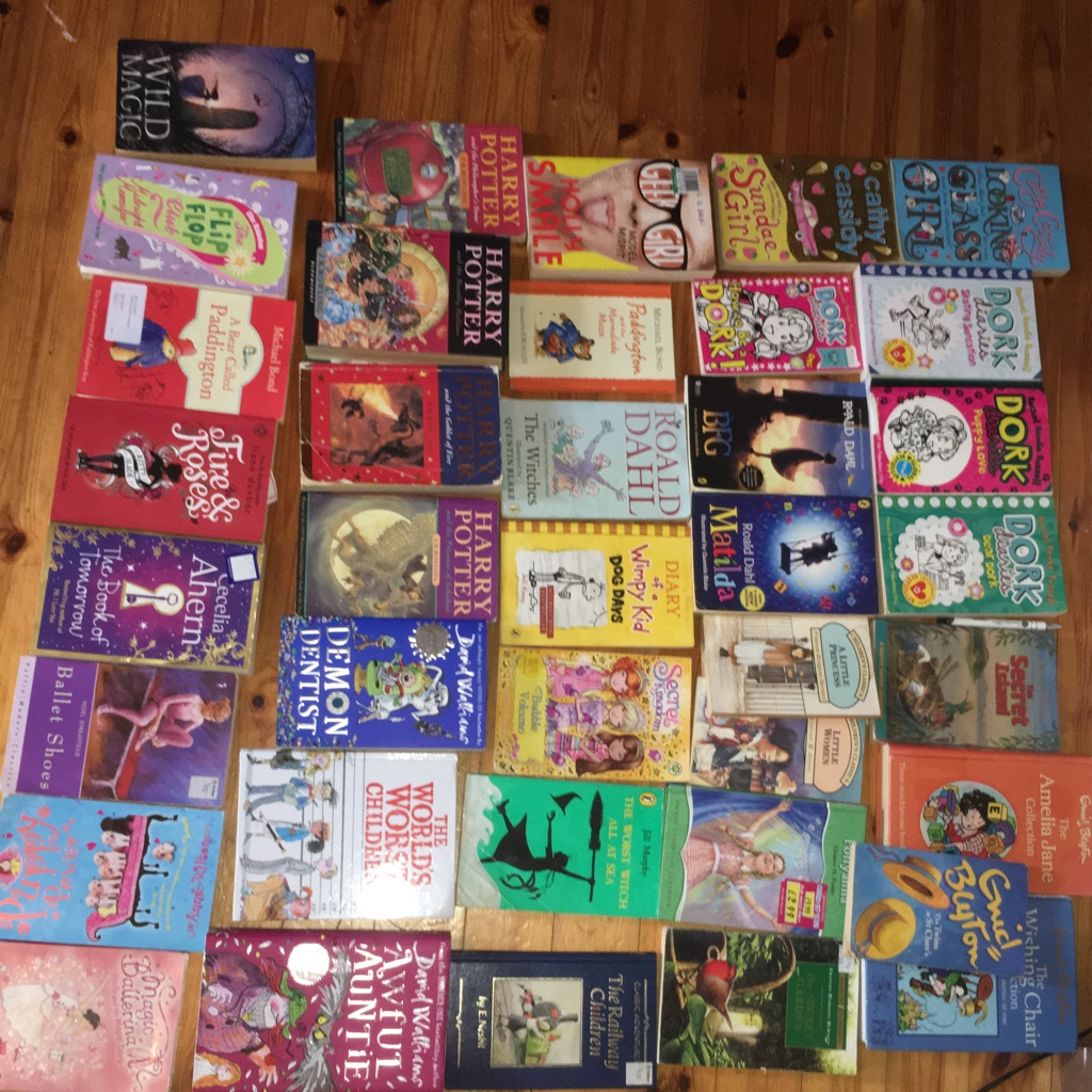 38 child/teen books £1 each or all for £45