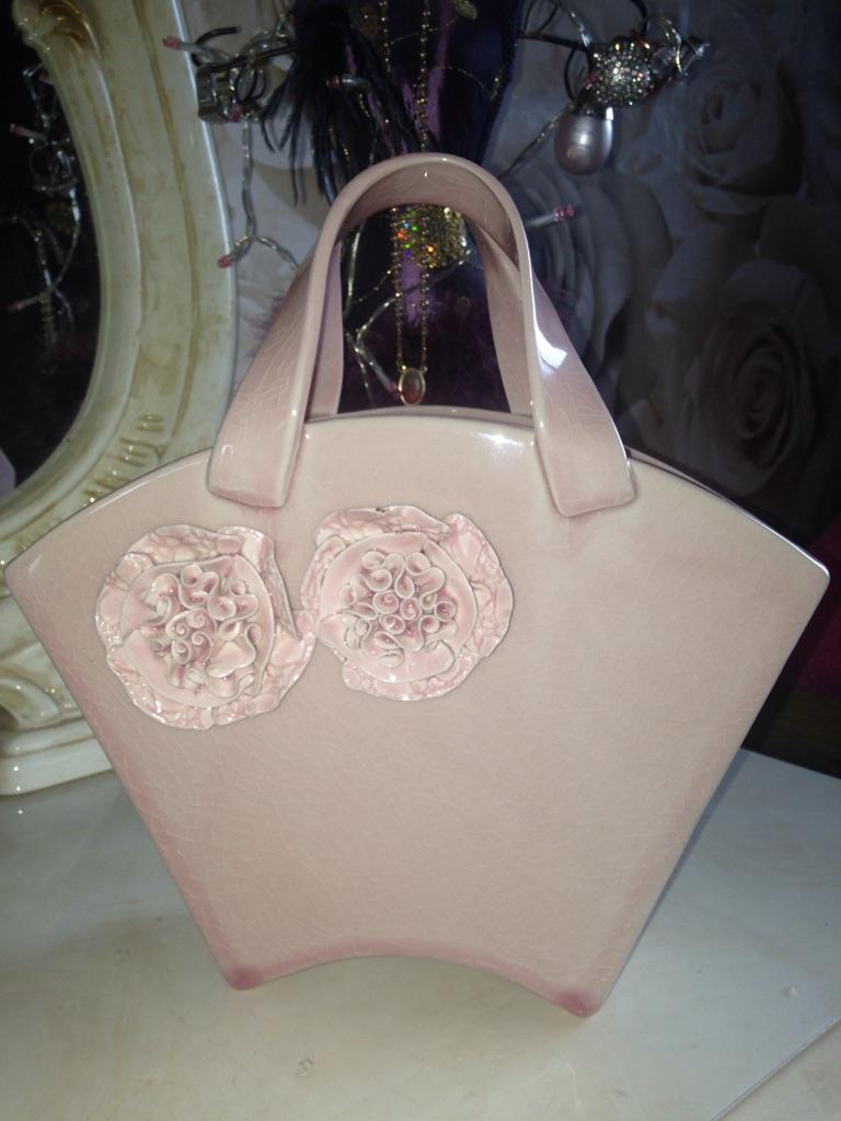 Ceramic Bag vase