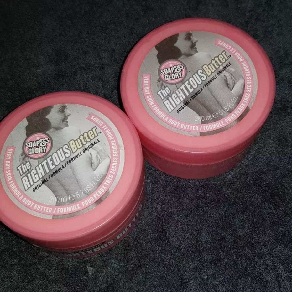 Soap and glory righteous  body butter