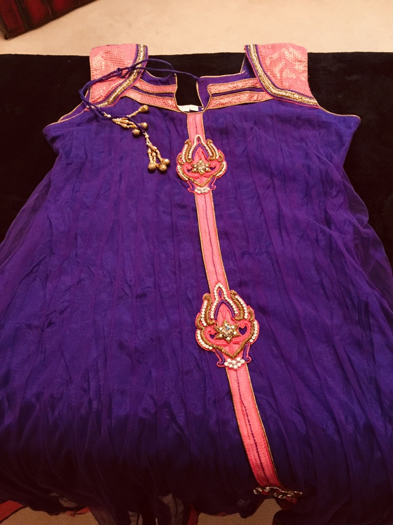 Indian dress size 12-14