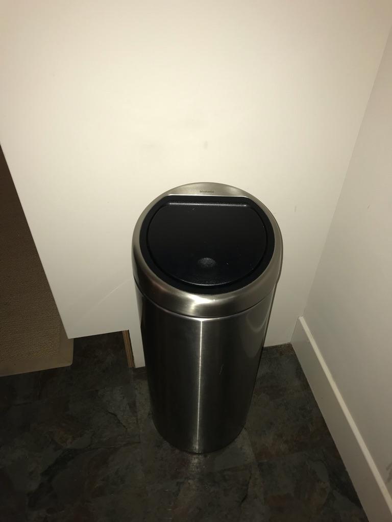 Brabanti stainless steel bin