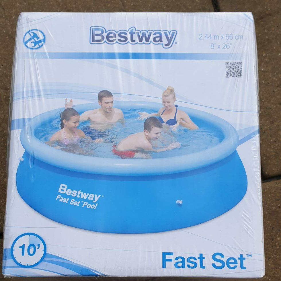 Bestway 10ft swimming pool
