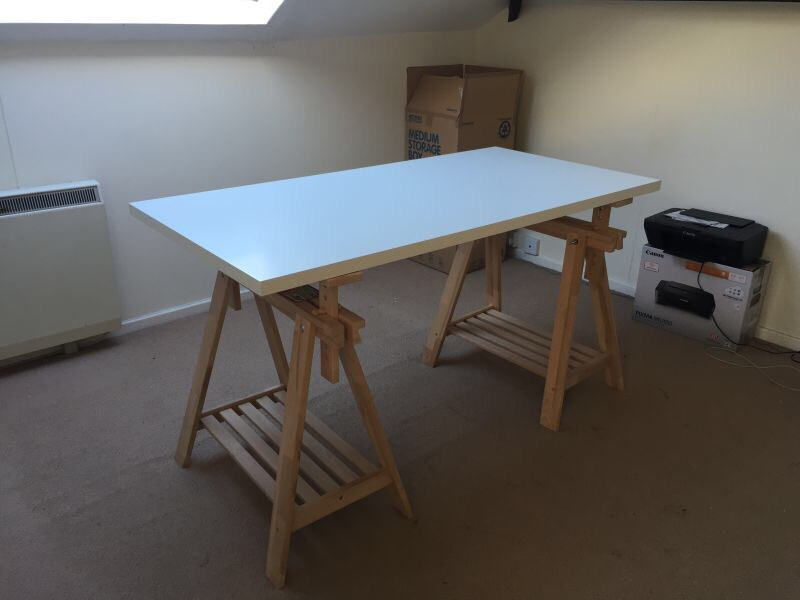 Ikea Linnmon Finnvard Table Very Good Condition Village