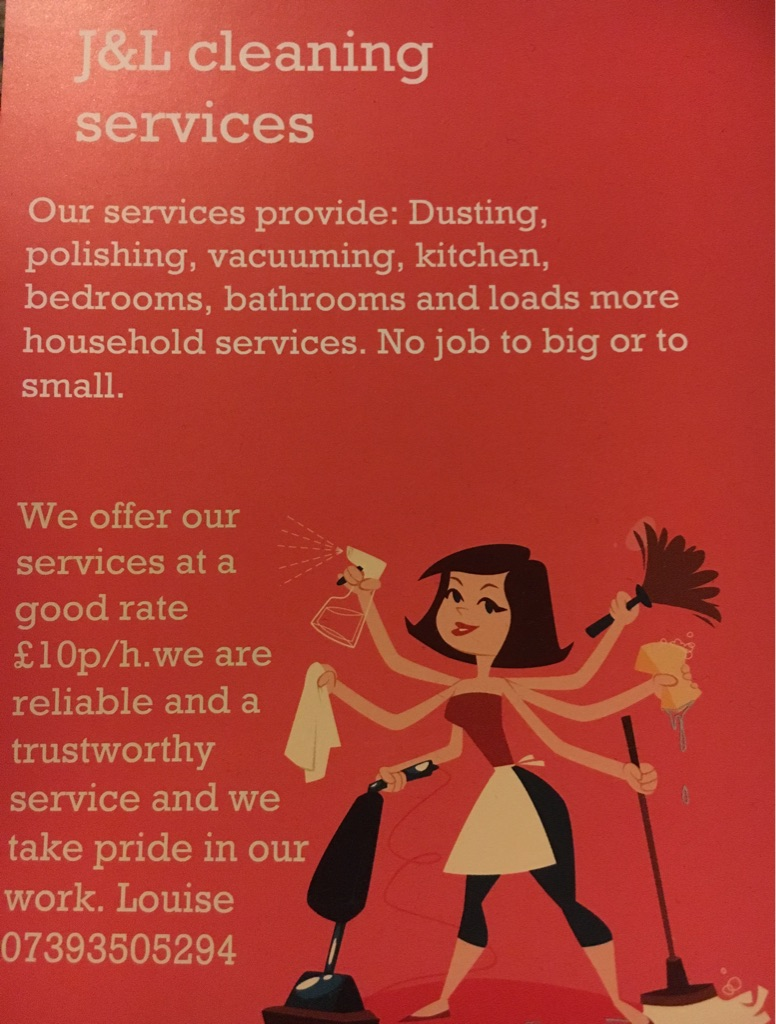 J&L cleaning services