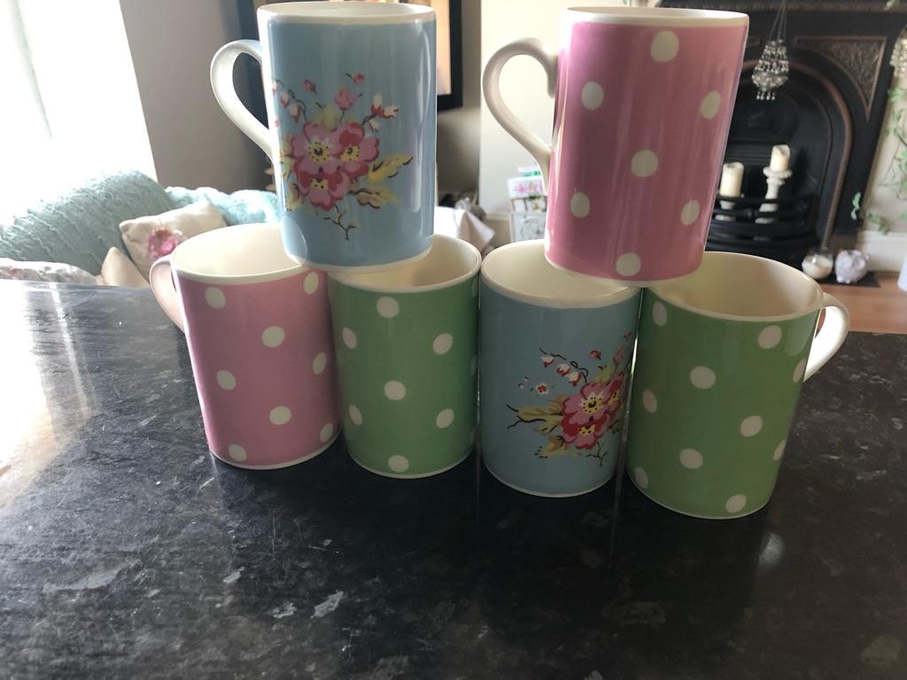 Cath Kidston vintage mugs