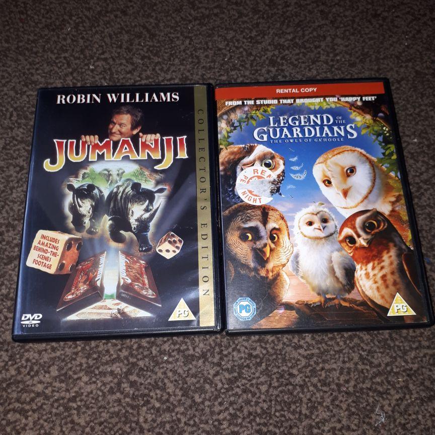 Children DVDS x8