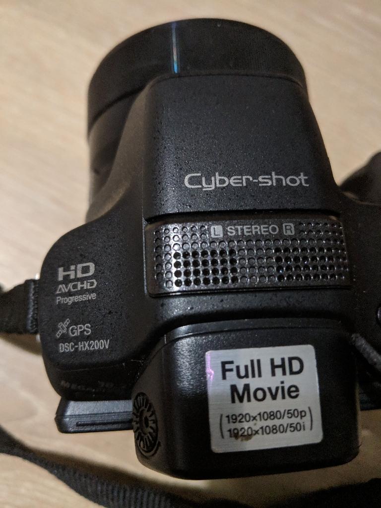 Sony cybershot SDL camera