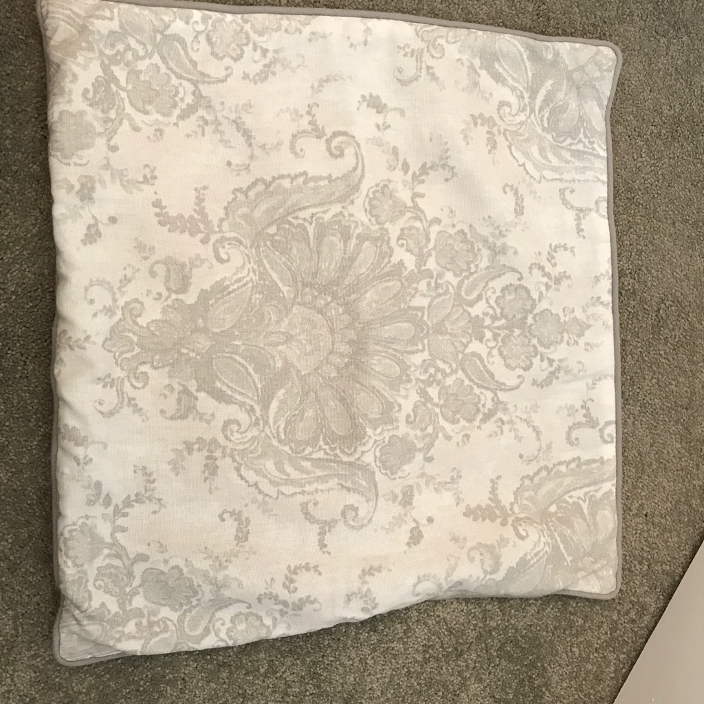Grey Laura Ashley Sofa Cushions