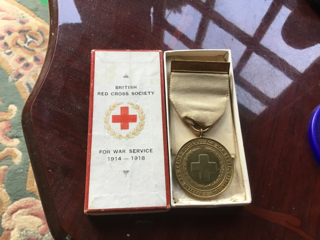 British Red Cross society for war service 1914 1918