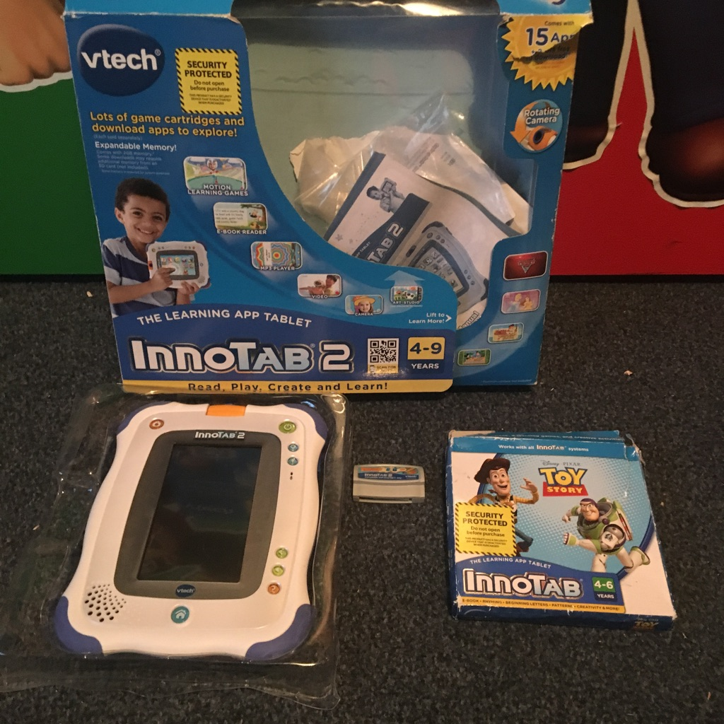 InnoTab 2 With 2 Games