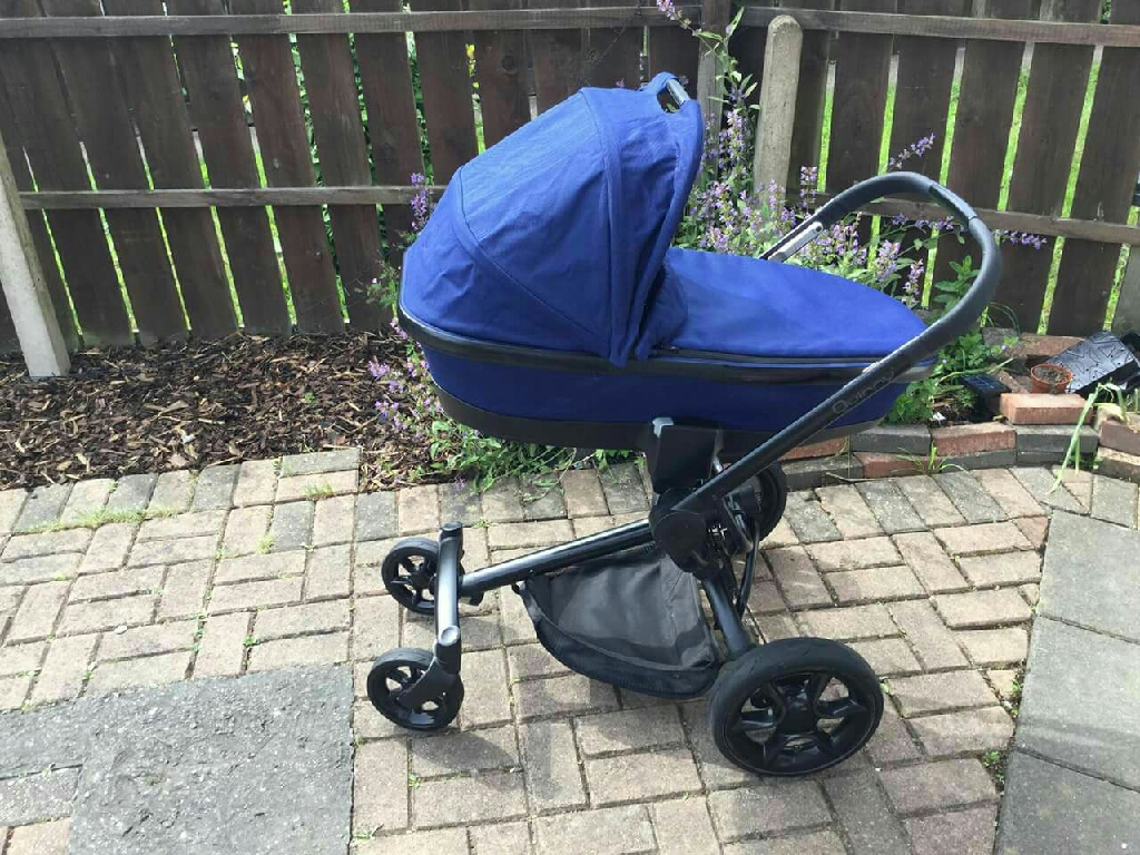 Quinny moodd blue travel system