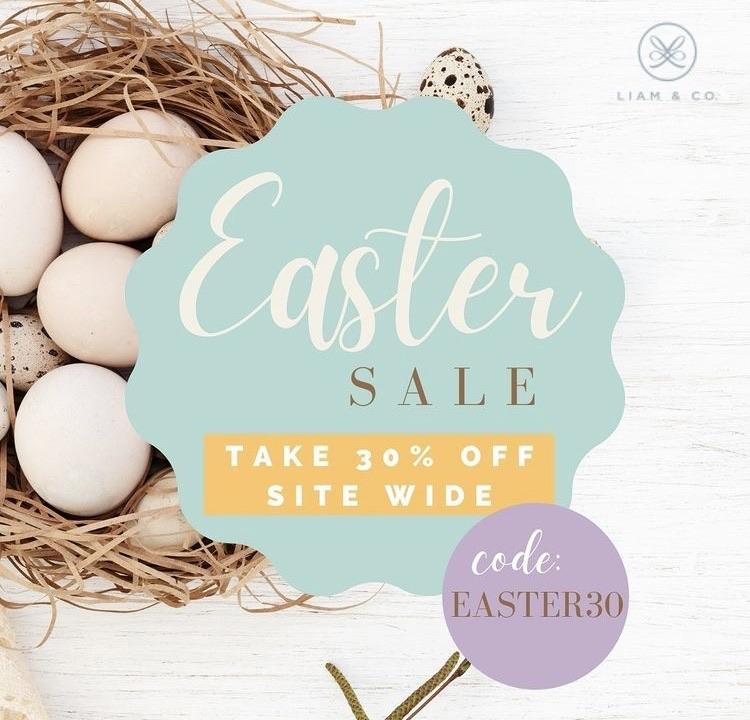Easter sales on ladies fashion 30% off using my code below