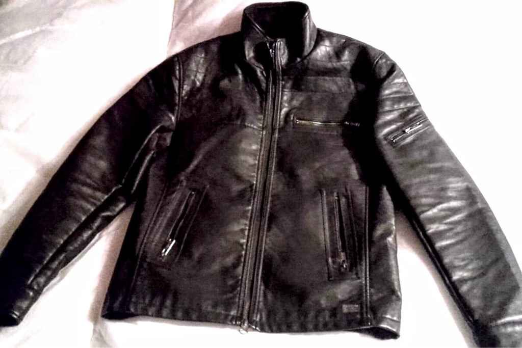 Firetrap leather jacket - work 3 times