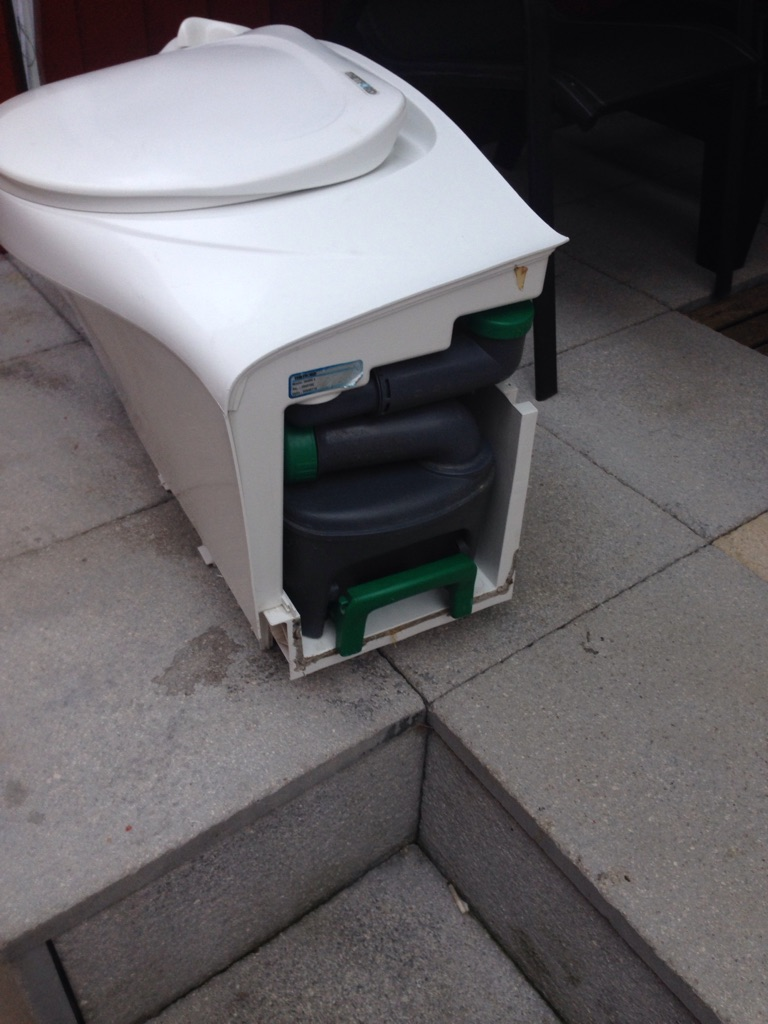 Thetford caravan toilet
